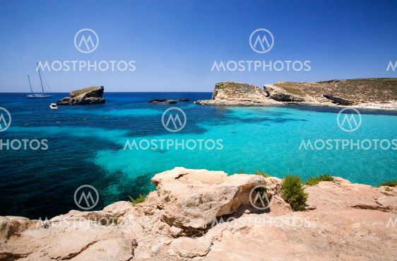Blå lagune Malta