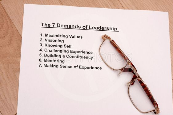 seven rule of leadership
