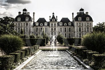 Cheverny castle old style