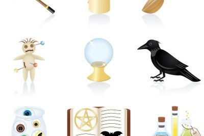 Icon set Magic