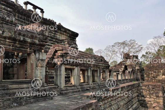Ancient temple of Baphuon, in Angkor.