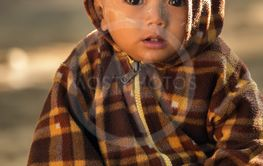 Burmese little kid