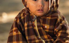 Burmese little kid
