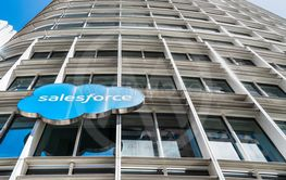 August 21, 2019 San Francisco / CA / USA - Salesforce...