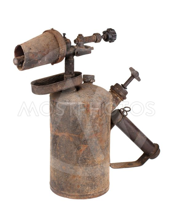 Rusty Torch By Andrey Eremin