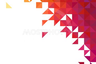Background of geometric shapes. Colorful mosaic pattern....