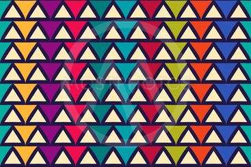 Seamless abstract pattern with triangle. Can be used in...