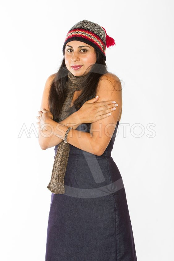 Chilly Indian Woman