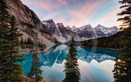Rocky Mountains lake