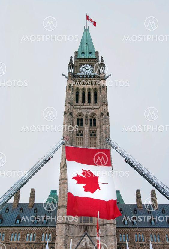 Centre Block Flag