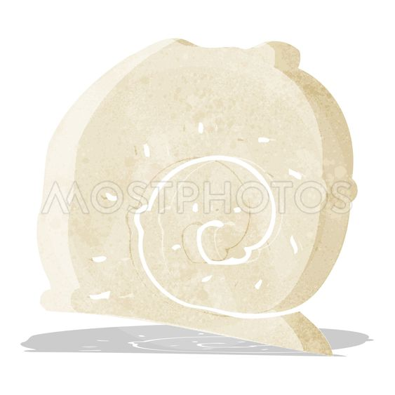 cartoon snail shell