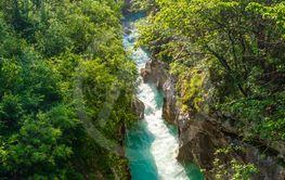 Rriver Soca, Triglavski national park, Slovenia