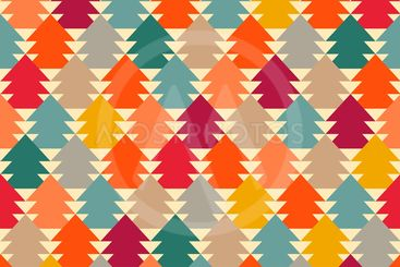 fir-tree abstract pattern.