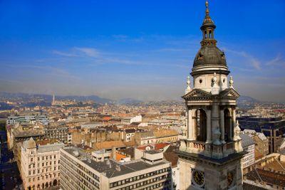 hungary,budapest :saint etienne basilic