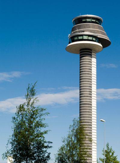 Arlanda flygplats flygledartorn