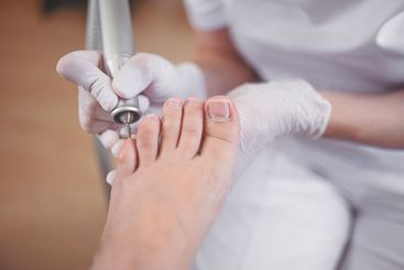 Hardware medical pedicure with nail file drill...