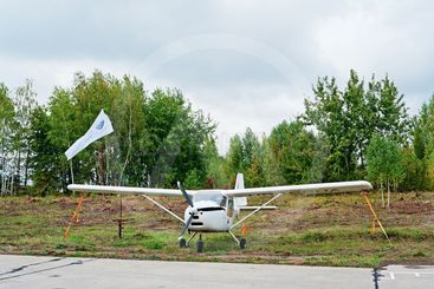 Light aeroplane Skyeton K10 Swift
