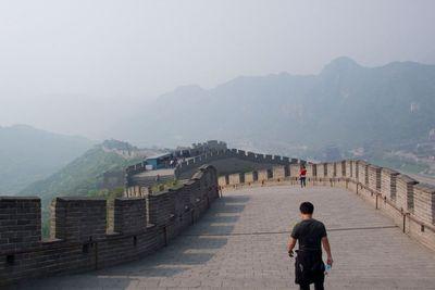 china, : big high wall