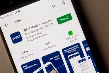Welt - mobile App