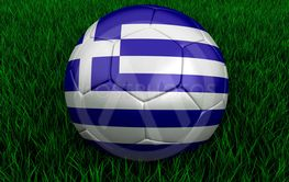 Greek soccer ball