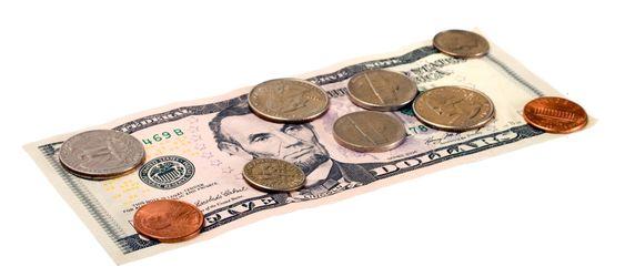 Mønter og dollars