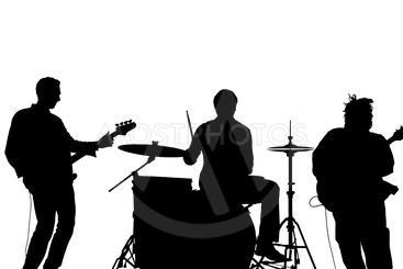 band silhouette