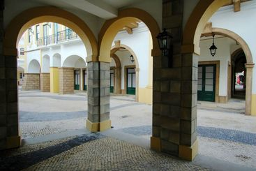 Various arches of Portuguese architectures