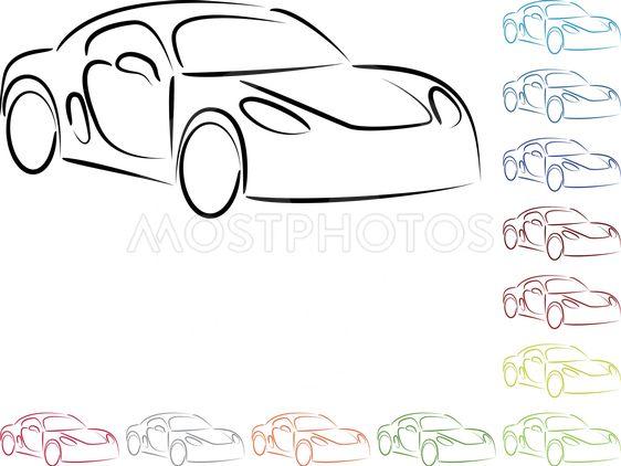 Car Sport Car Logo Colle By Waldemar Holzer Mostphotos