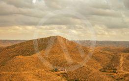Landscape near Matmata in the south of Tunisia