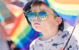 Pojke på pridefestival