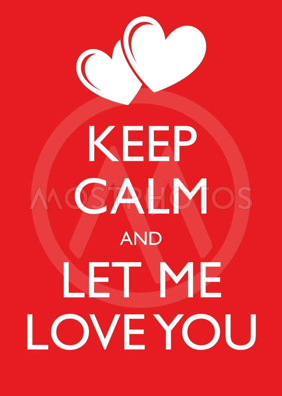 Poster Illustration Graphic Vector Keep Calm And Let Me...