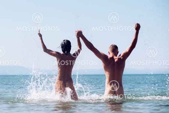 Nudist couple How I