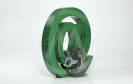 Green At Mail Sign Symbol with Lock