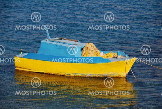 Fiskebåt, Halki ön