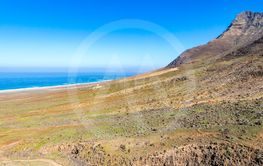 Hiking on Jandia Peninsula, Fuerteventura, Canary...