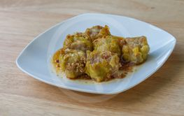 Shumai, Chinese traditional steamed dumplings food
