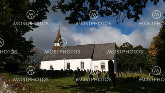 Ölmstads kyrka i Småland (Sweden)