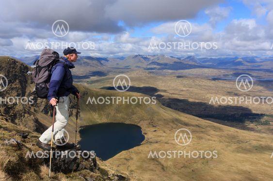 Hiker in Scotland