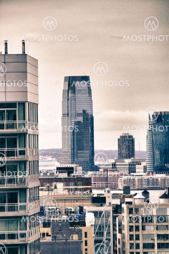 Tall rakennusten New Yorkissa