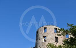 Torn på Borgholms slott på Öland