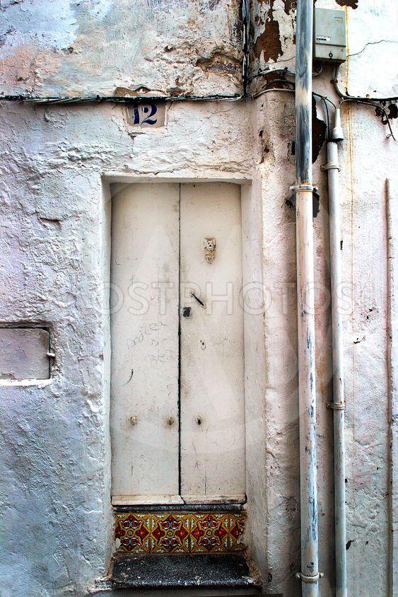 Old door in Ibiza