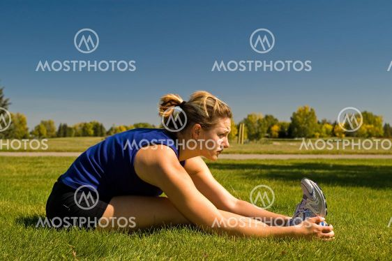 Istuva Hamstring Stretch