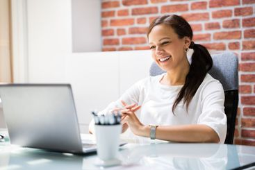 Online Video Conference Elearning Call