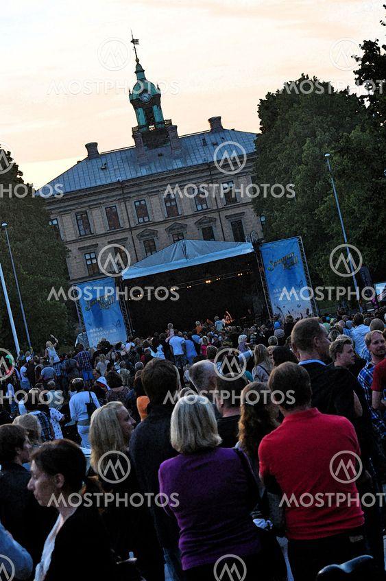 Sommarkväll i Gävle