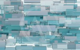 Abstract background of cubes. 3D illustration