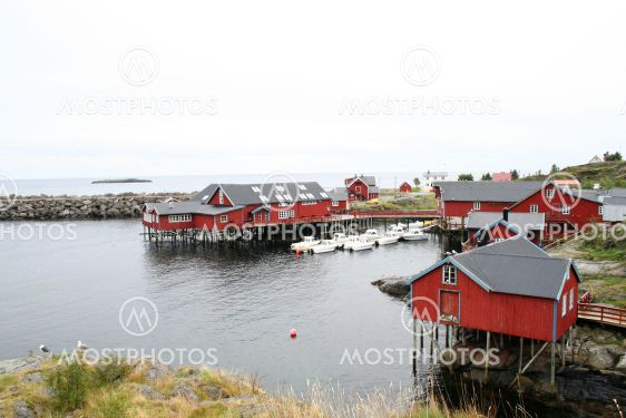lofoten fishing village