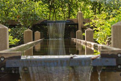 wooden cascade