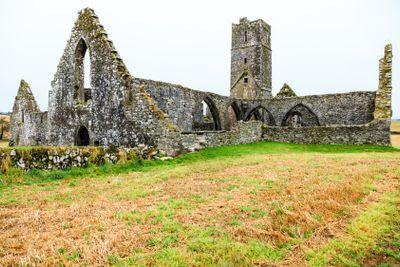 KILCREA, IRELAND - NOVEMBER 28: Kilcrea Friary on...