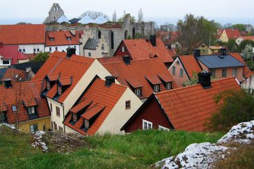 Visby, Roofs of Houses