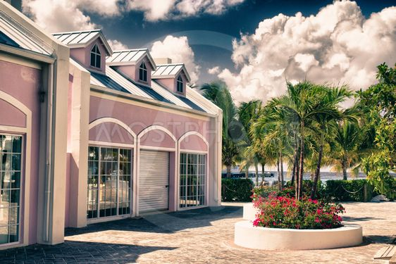 Typical Architecture of Grand Turk, Caribbean